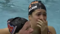 Wisconsin's Beata Nelson Sets National Record in 100-yard Butterfly