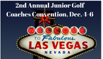 Junior Golf Coaches Convention Set for Las Vegas