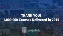 NFHS Learning Center Delivers One Million Online Education Courses in 2015