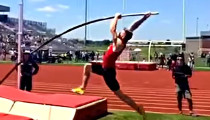 Missouri's Nilsen Skies to National Record in Pole Vault