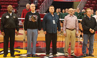 'Veteran' Illinois Volleyball Officials Honored for Service to Country