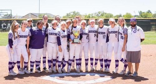 Softball canyon texas high school sets softball home run record fandeluxe Image collections