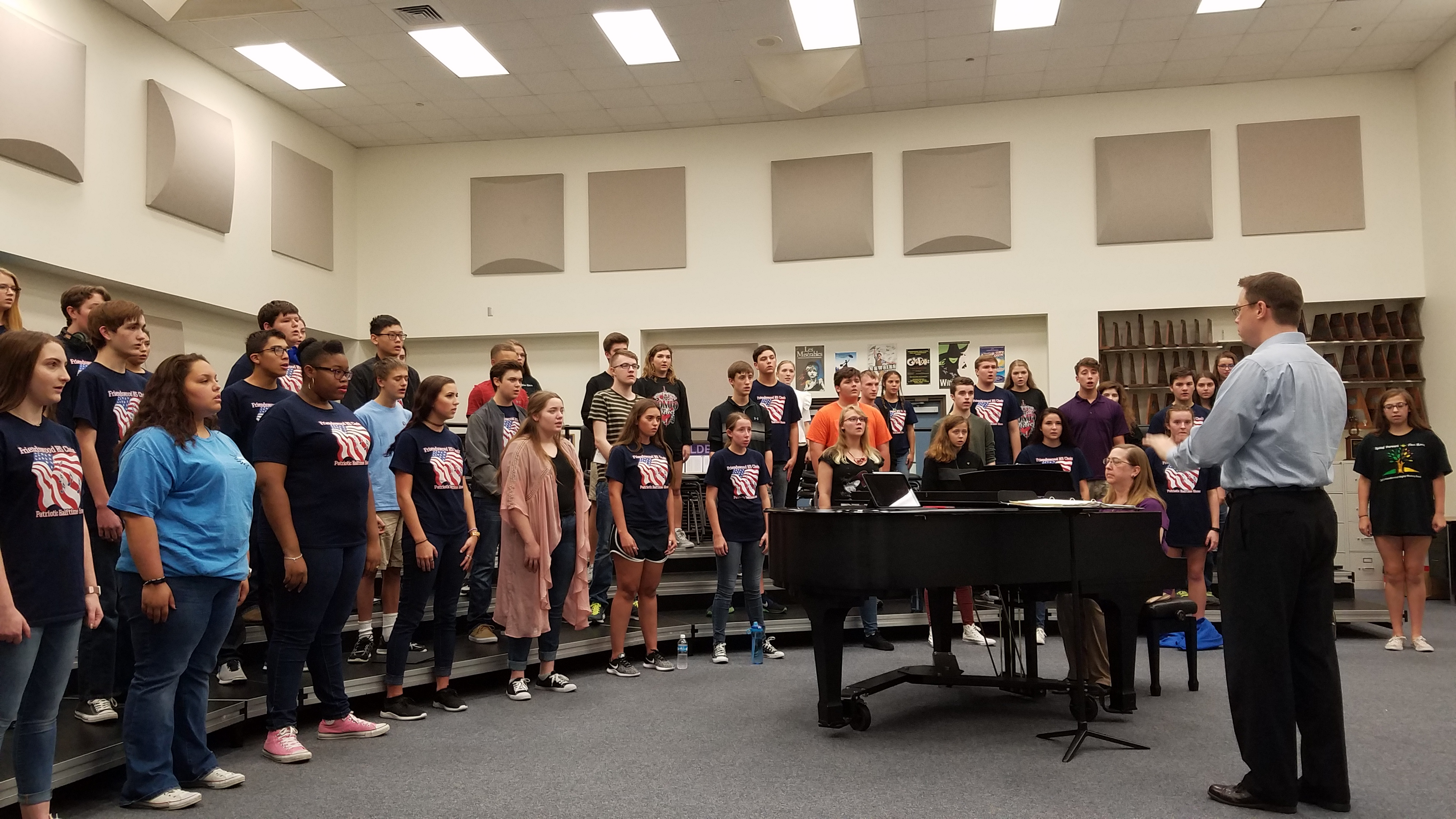 Friendswood (Texas) High School Selected NFHS National Performing Arts School of Excellence