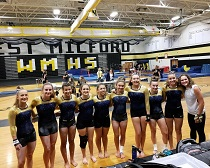 Inaugural season a success for Roxbury High School Girls Gymnastics Program