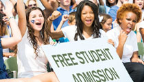 Free Student Admission to Events Could Change School Culture
