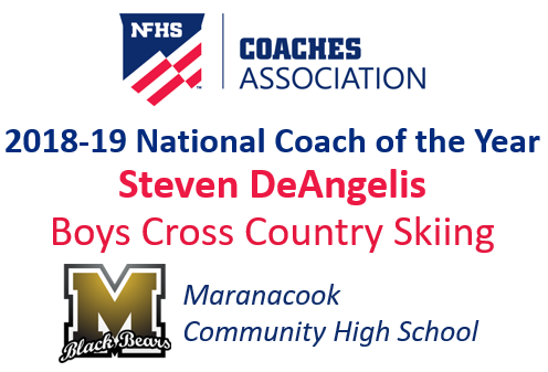 Steven DeAngelis: National Boys Cross Country Skiing Coach of the Year (2018-19)