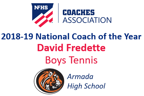 David Fredette: National Boys Tennis Coach of the Year (2018-19)