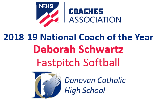 Deborah Schwartz: National Fastpitch Softball National Coach of the Year (2017-18)