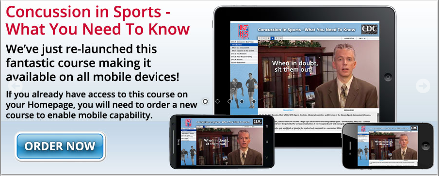 Free Concussion Course Now Available on Mobile Devices