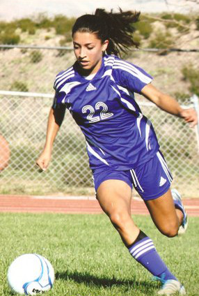 High School Mexican Soccer Player