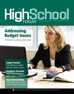 High School Today Cover - April 2011